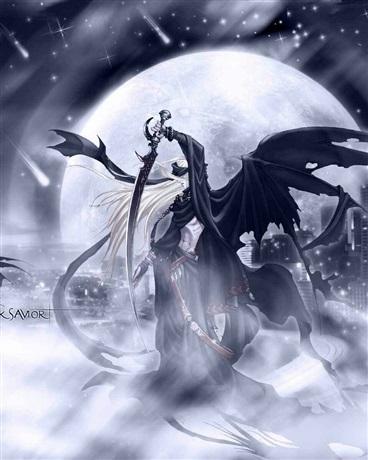 仙女魔帝手绘图片