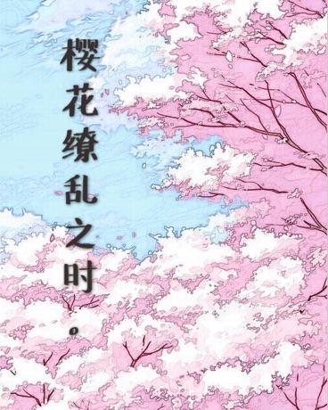 樱花缭乱之时