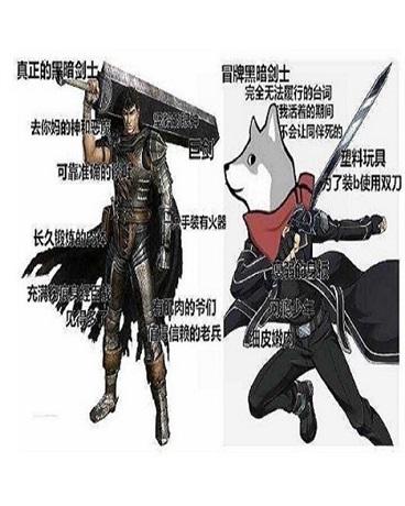 我作为真正的黑暗剑士人头总被抢