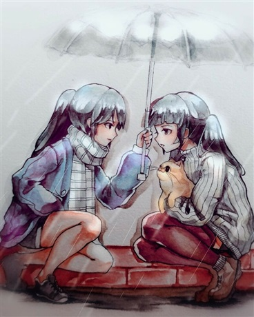 少女下雨邂逅EX
