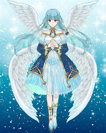 我变成天使穿越到了异世界