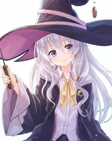转生最强魔女的我捡到白发美少女