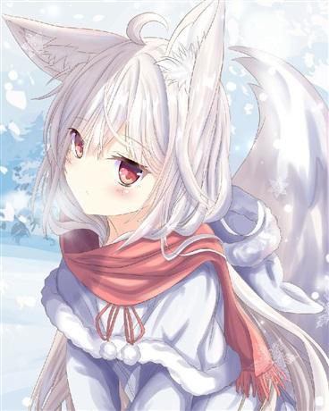 穿越游戏世界后变成了妖狐少女