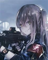 在战火纷飞之中奋勇前行的少女