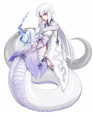 穿越到异世界变成蛇女