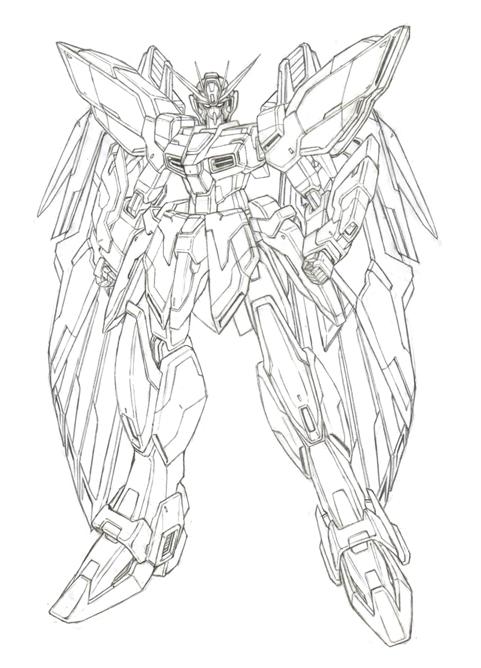 机甲机器人简笔画