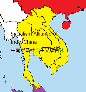 柬埔寨行政地图中文版