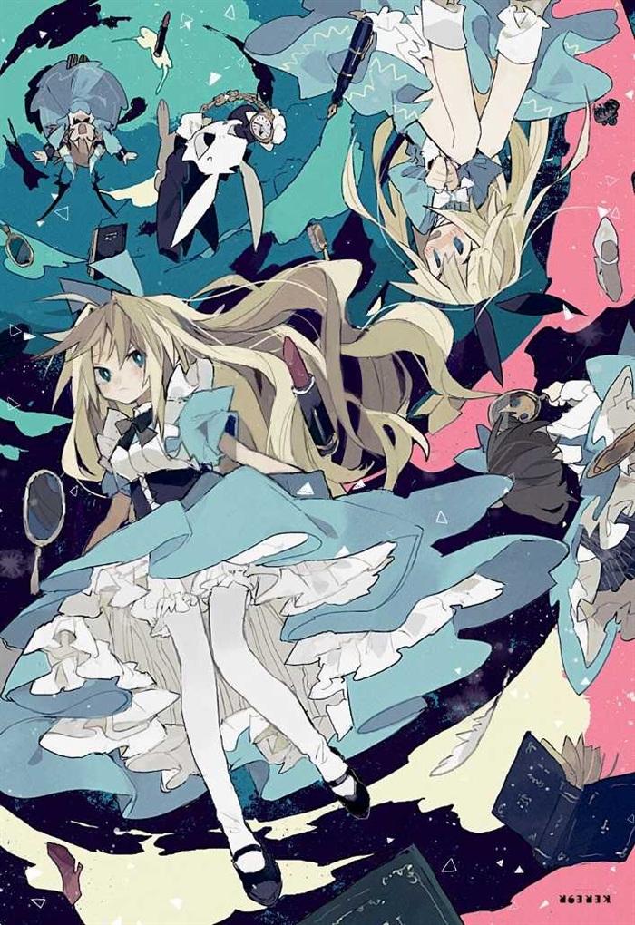 形象可参考爱丽丝梦游仙境中的爱丽丝.